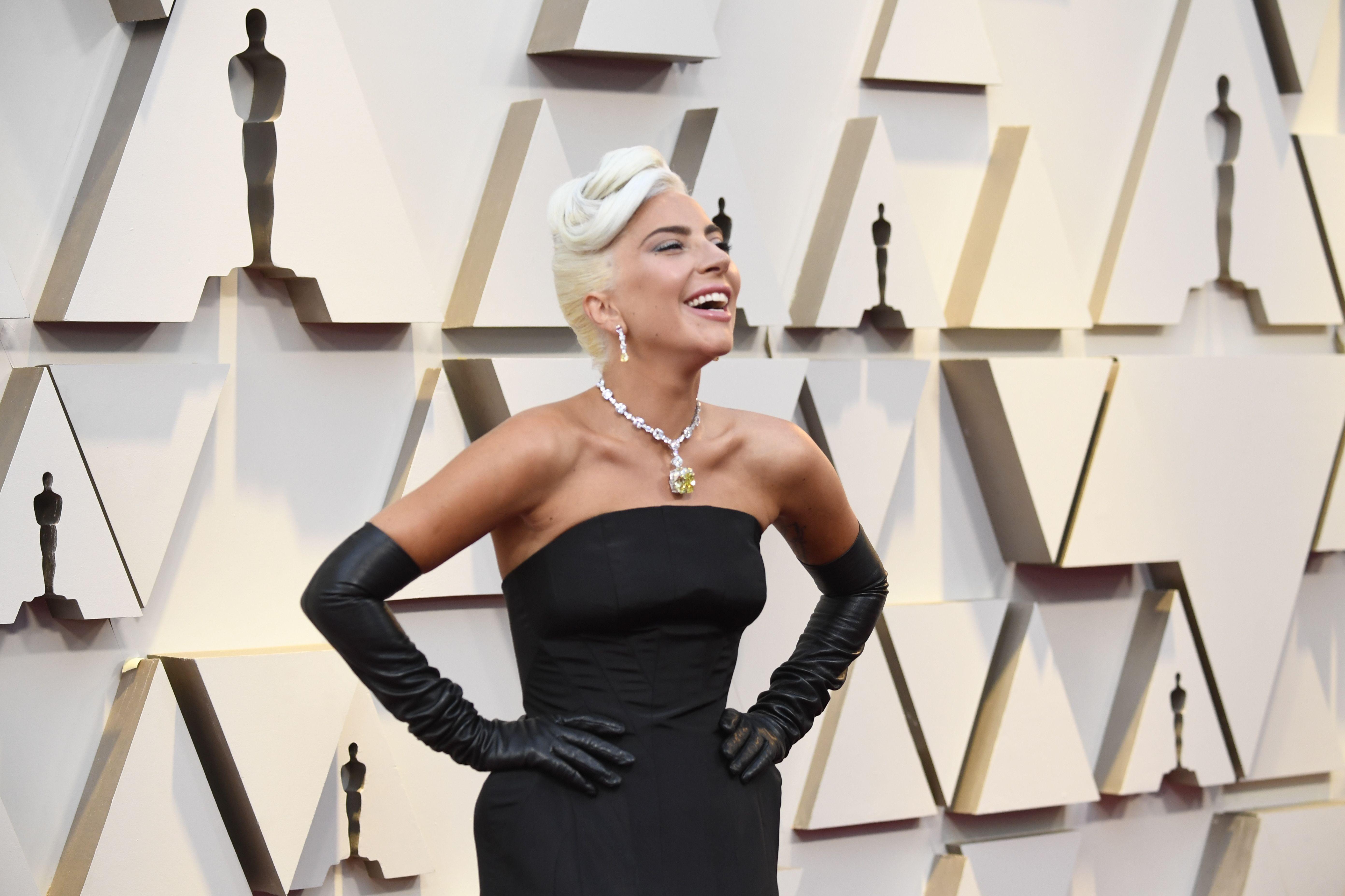 gaga necklace oscars 2020