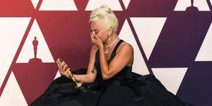 Lady Gaga wint een Oscar tijdens de Academy Awards van 2019