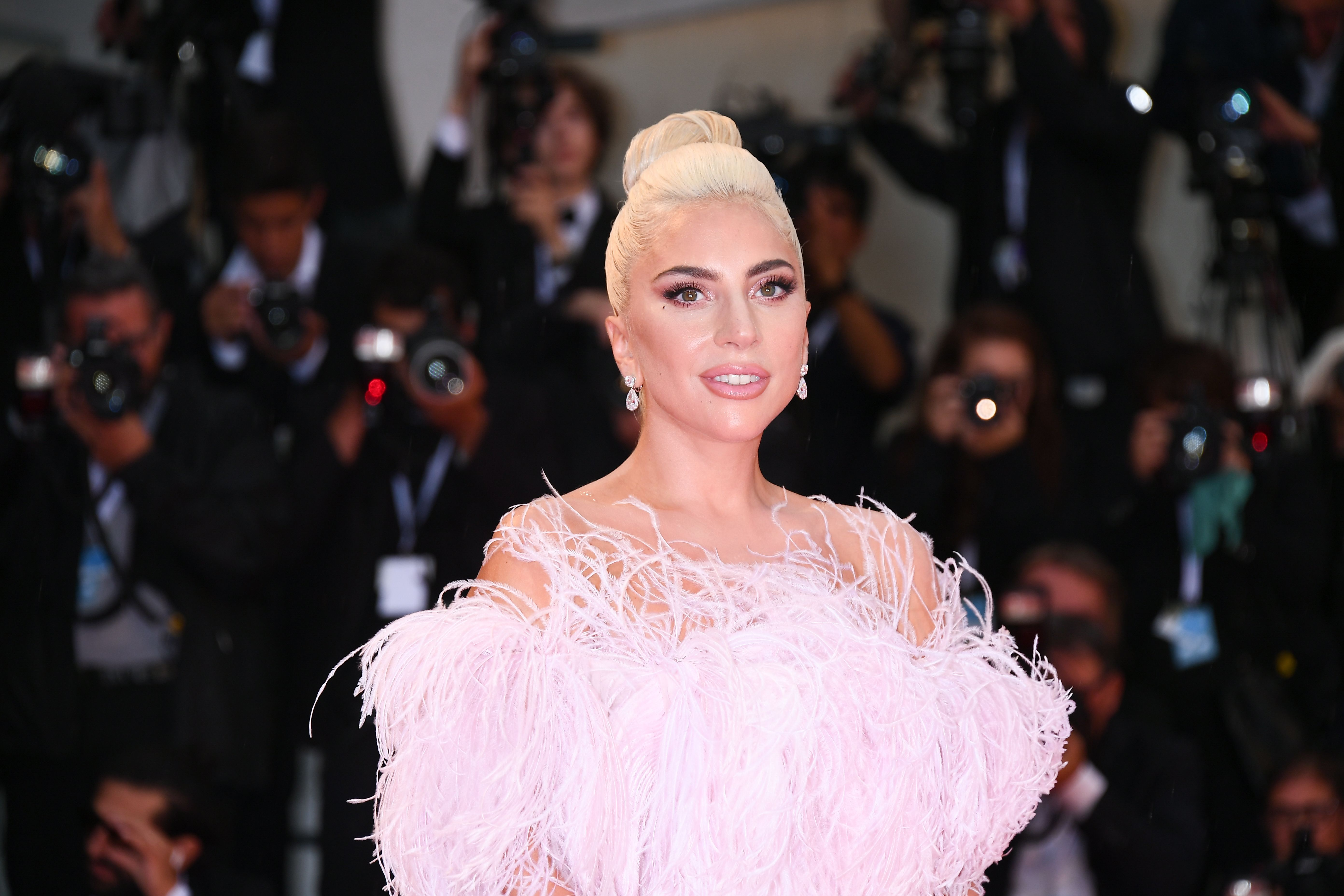 Lady Gaga s Best  A Star Is Born  Outfits - Every Single Outfit Gaga Has  Worn During the ASIB Promo Tour and Awards Season 343a897f329