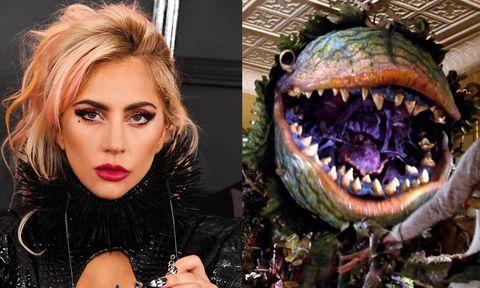Lady Gaga en La tienda de los horrores