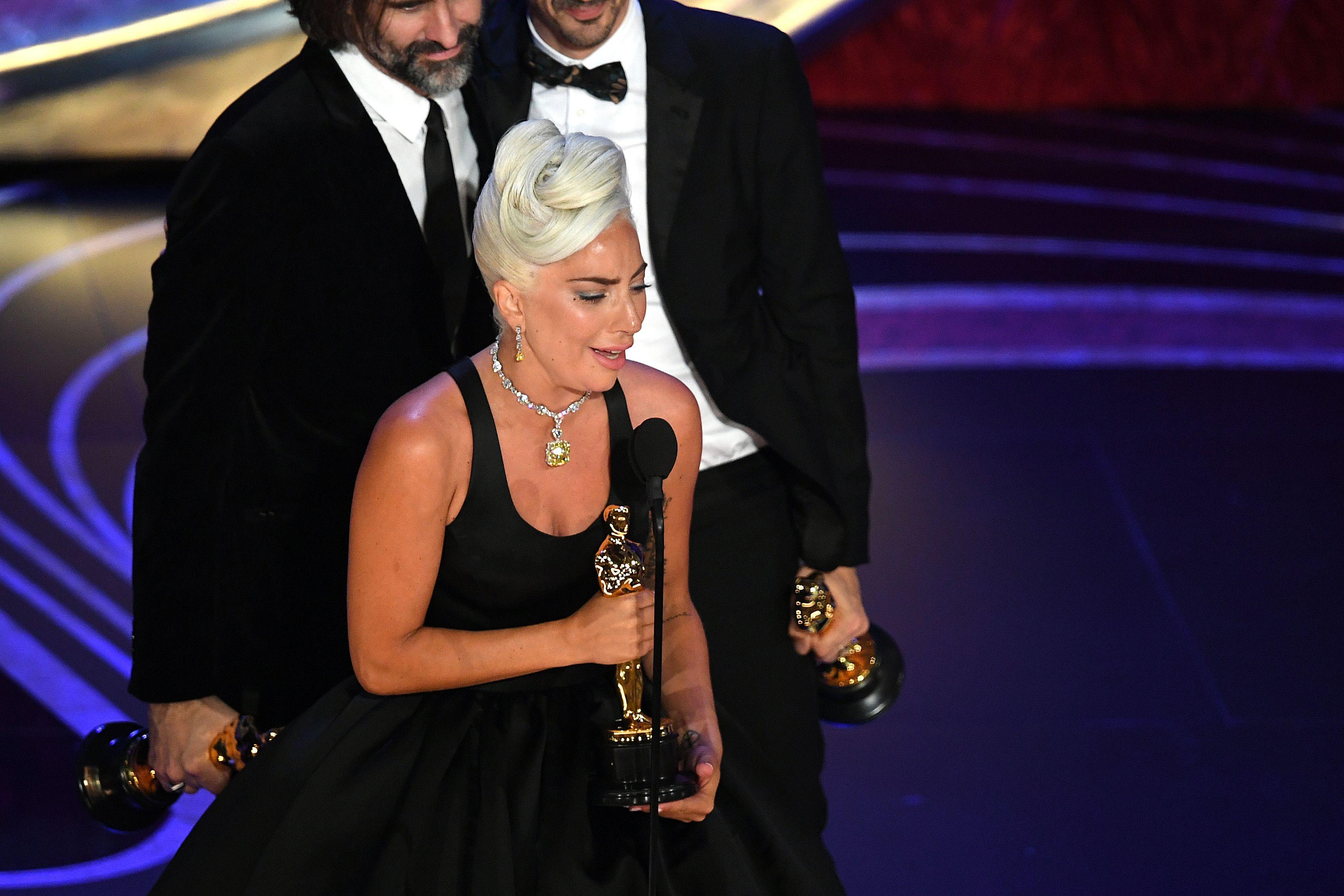 Oscars 2019: Lady Gaga gana el Oscar a Mejor Canción por 'Shallow' - Palmarés Oscars 2019