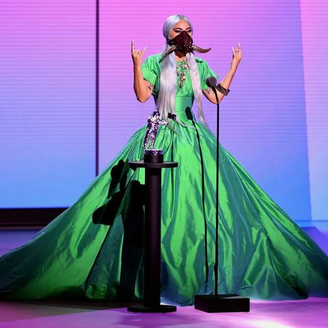 lady gaga's outfits at the vmas 2020