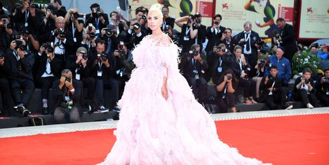 16cc5c5cbc8 25 of the Biggest Celebrity Dresses of 2018 - Biggest Celebrity Red ...