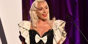 Lady GagaFIJI Water at the 5th Annual Fashion Los Angeles Awards