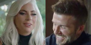 David Beckham y Lady Gaga