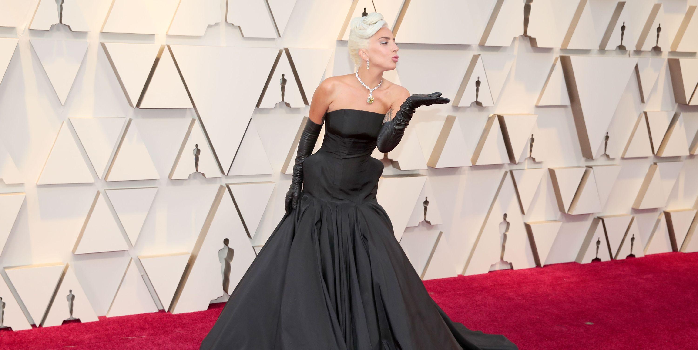Lady Gaga - Oscars red carpet 2019