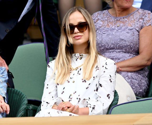 wimbledon celebrity sightings day 13