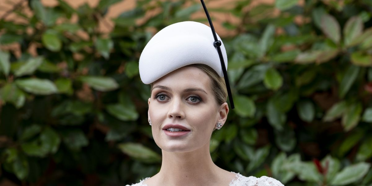 Princess Diana's Niece Kitty Spencer Wore Several Hand-Made Gowns For Her Fairytale Wedding