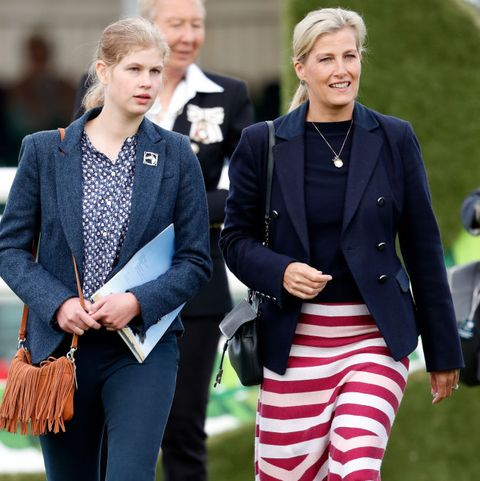 The Countess Of Wessex Attends The Burghley Horse Trials