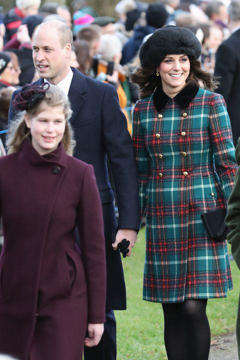 029590973e13 Members Of The Royal Family Attend St Mary Magdalene Church In Sandringham