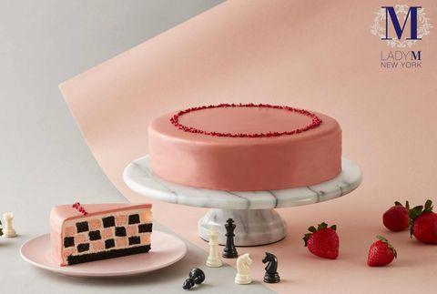 lady m草莓季終於來了!全新草莓巧克力棋盤格、4款草莓蛋糕回歸