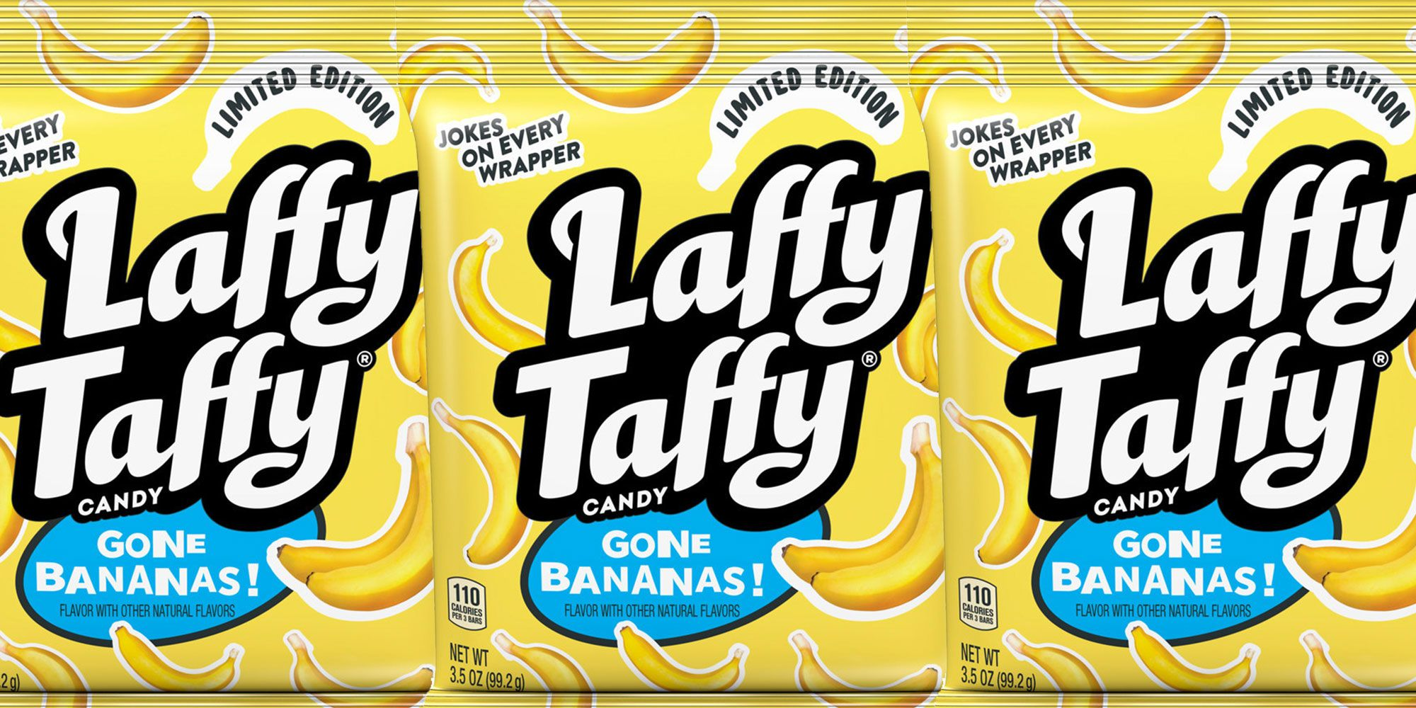 Prepare To Go BANANAS, Because Laffy Taffy Is Selling Banana-Only Bags