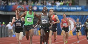Bernard Lagat in the men's 5000, 2016 Trials