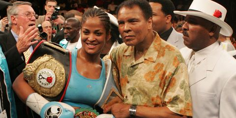 Laila Ali Muhammad Ali boxing