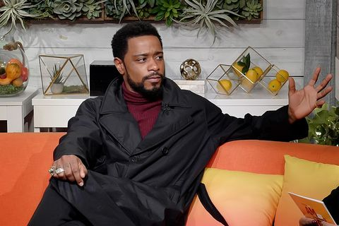 """lakeith stanfield visits buzzfeed's """"am to dm""""  february 12, 2020"""