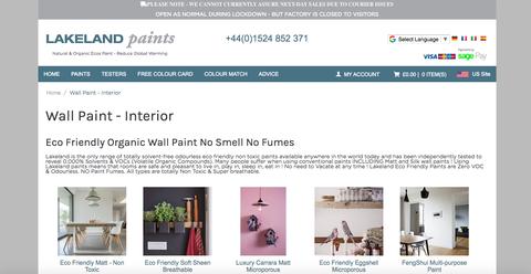 lakeland paints website