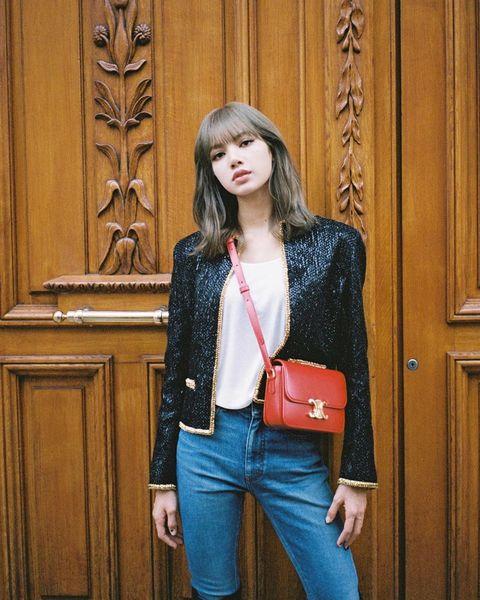 Clothing, Jeans, Leather, Jacket, Denim, Fashion, Leather jacket, Blazer, Shoulder, Street fashion,