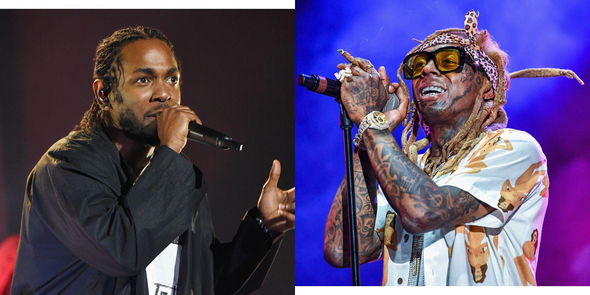 Lil Wayne, Kendrick Lamar Mona Lisa - The Story Behind Lil