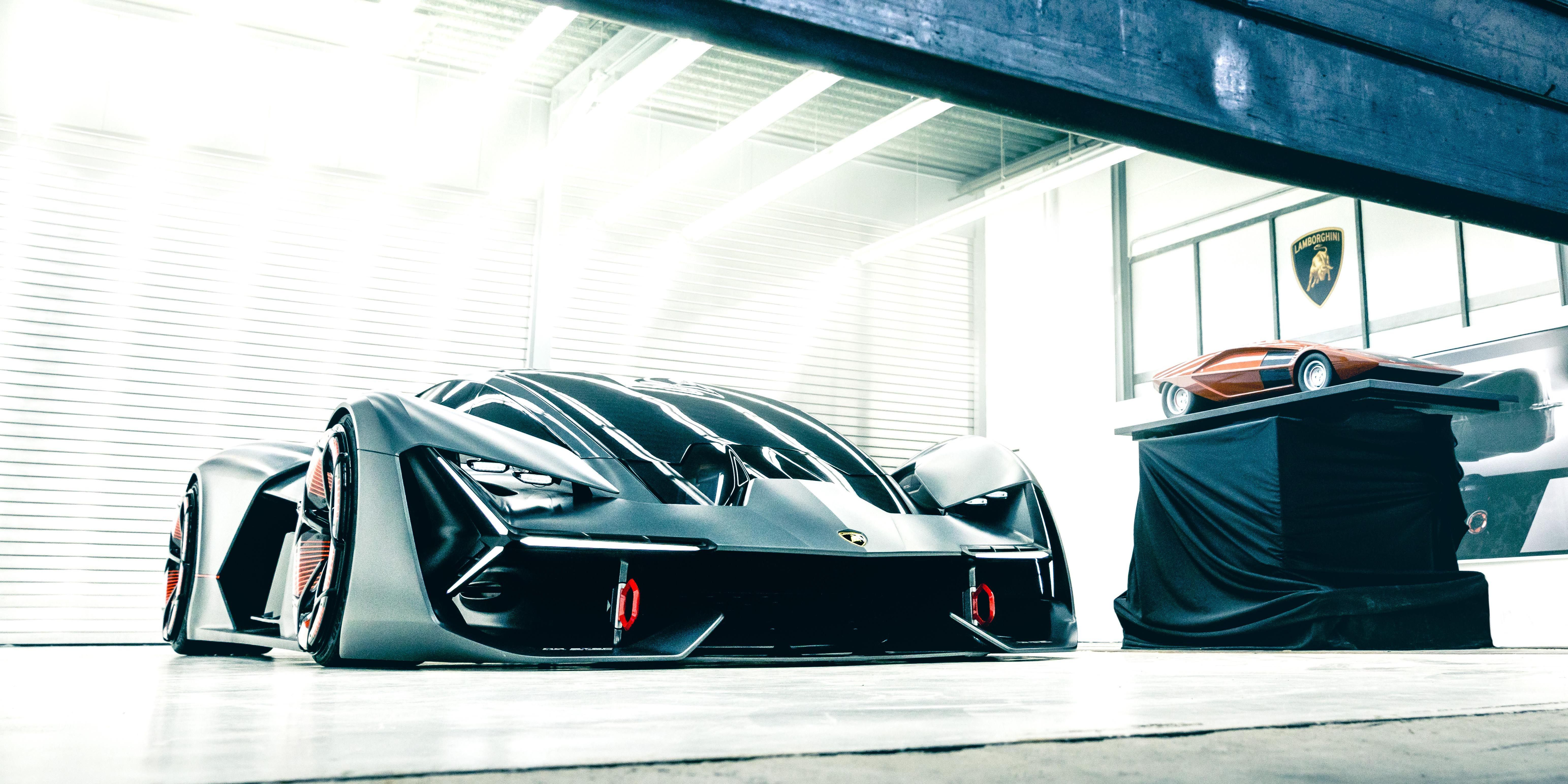 The Lamborghini Terzo Millennio Is a Wild Electric Hypercar For the Future