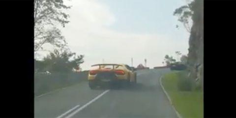 accidente Lamborghini Asturias