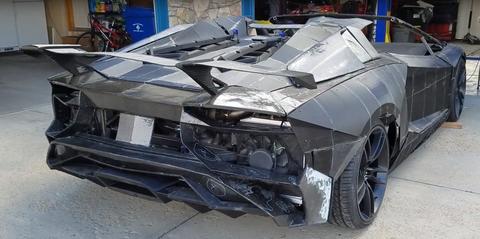 Lamborghini Aventador 3D print