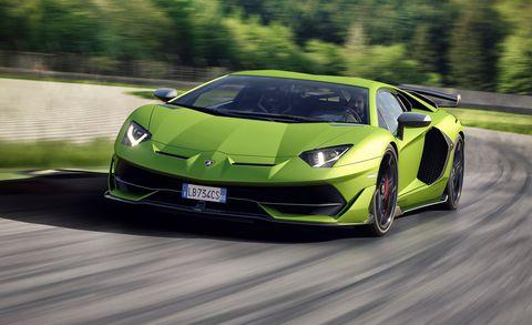 Lamborghini Unveils A More Super Aventador Supercar