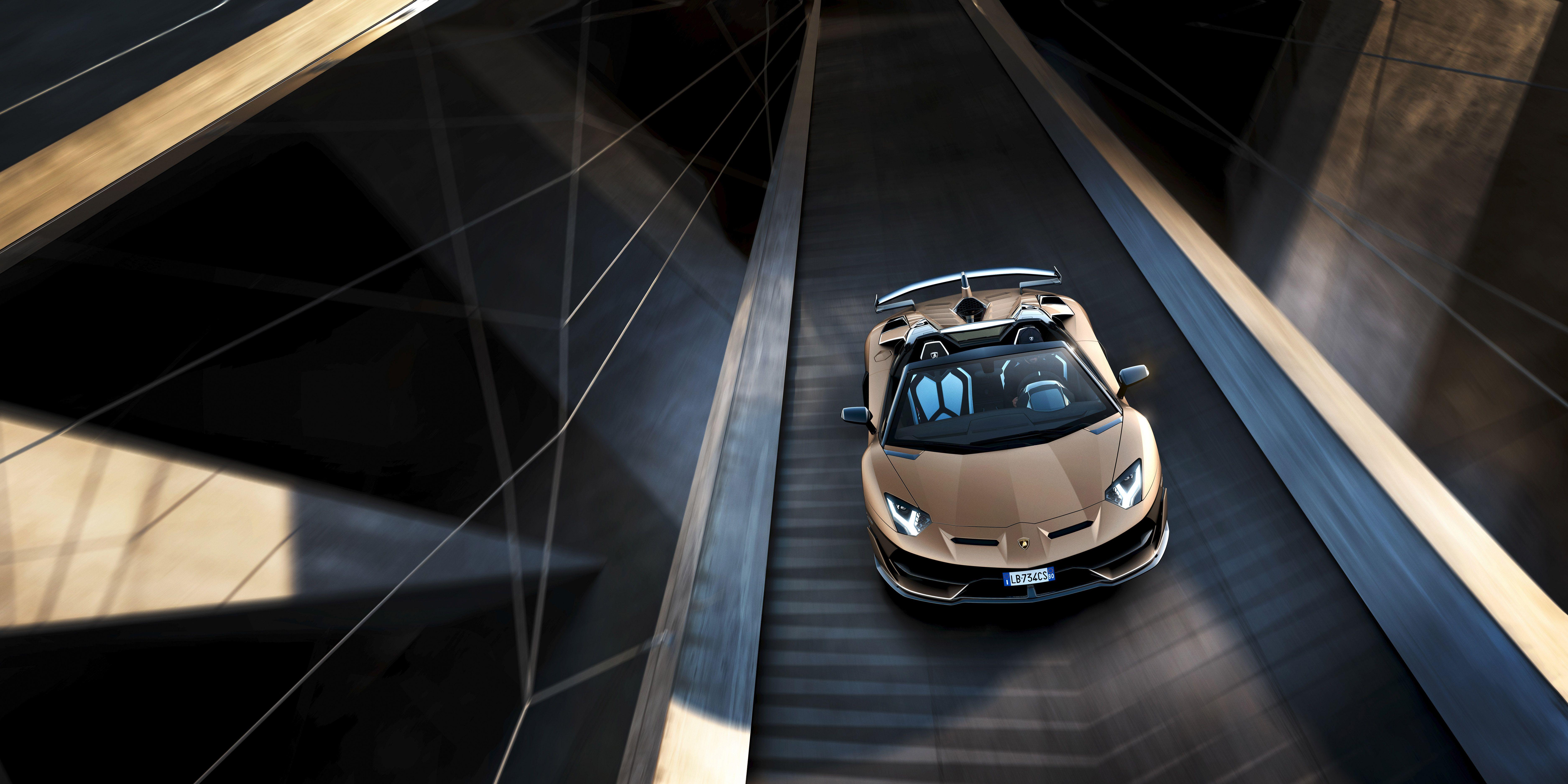 Lamborghini Aventador SVJ Roadster , 759 Roofless Horsepower