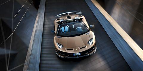 Lamborghini Aventador Svj Roadster 759 Roofless Horsepower