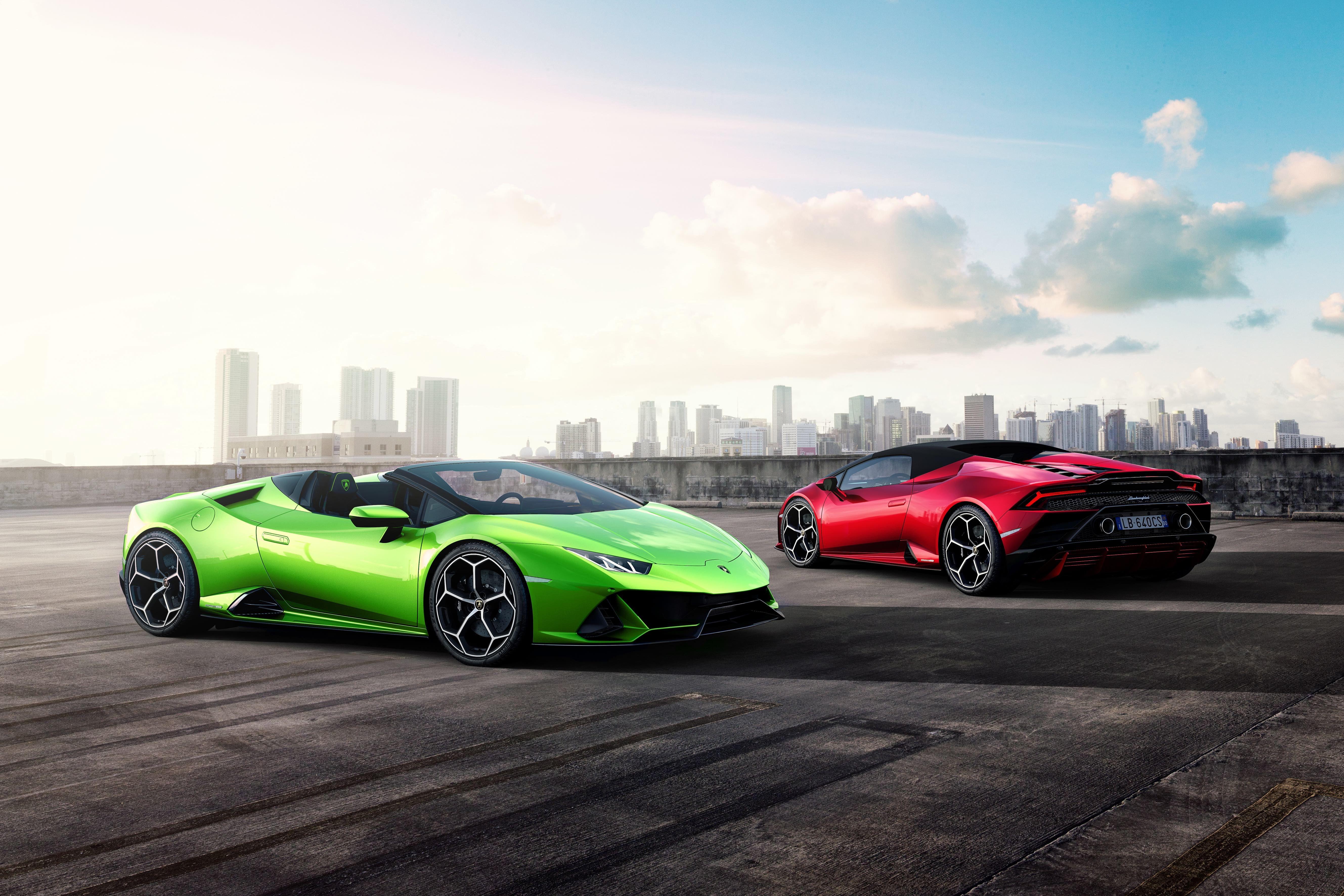 Lamborghini Huracán Evo Spyder \u2013 Open,Air Fun and 202 MPH