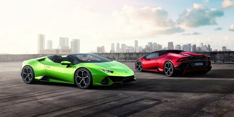 Lamborghini Huracan Evo Spyder Open Air Fun And 202 Mph