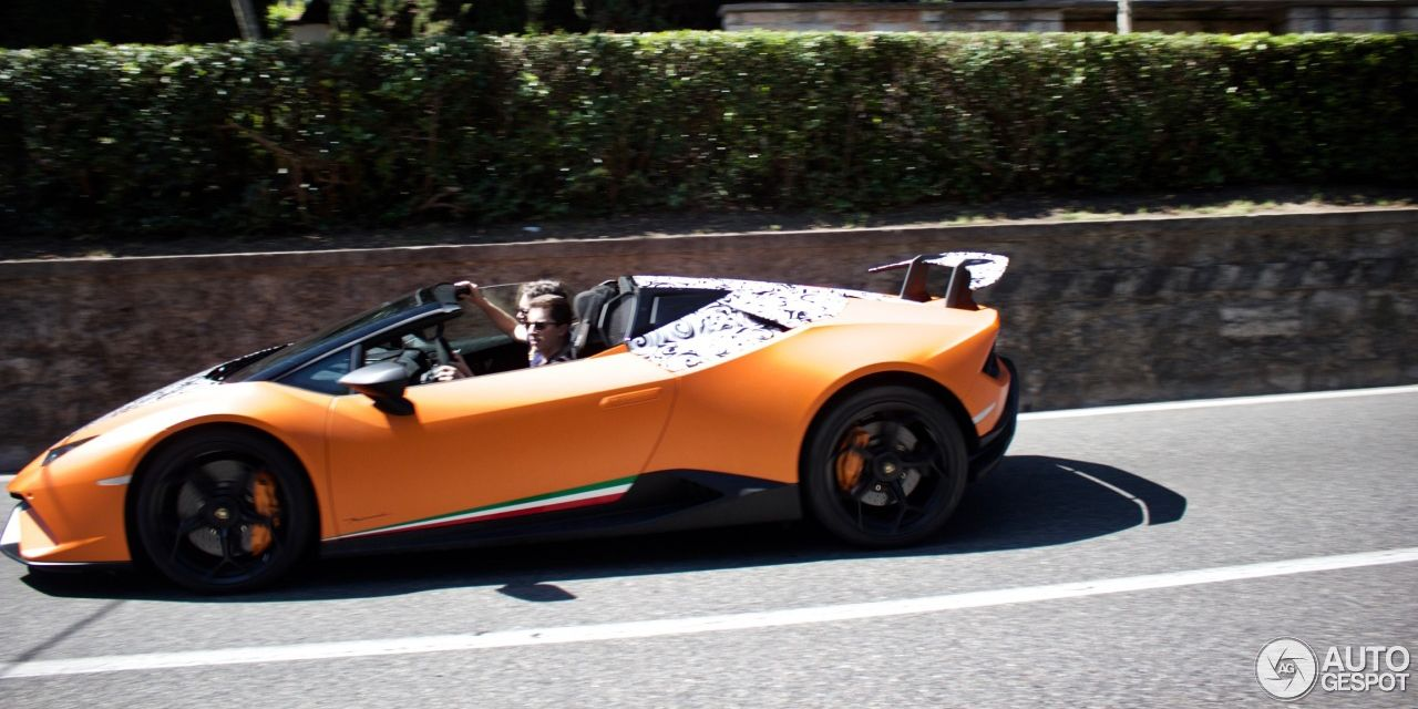 This Is The Lamborghini Huracan Performante Spyder