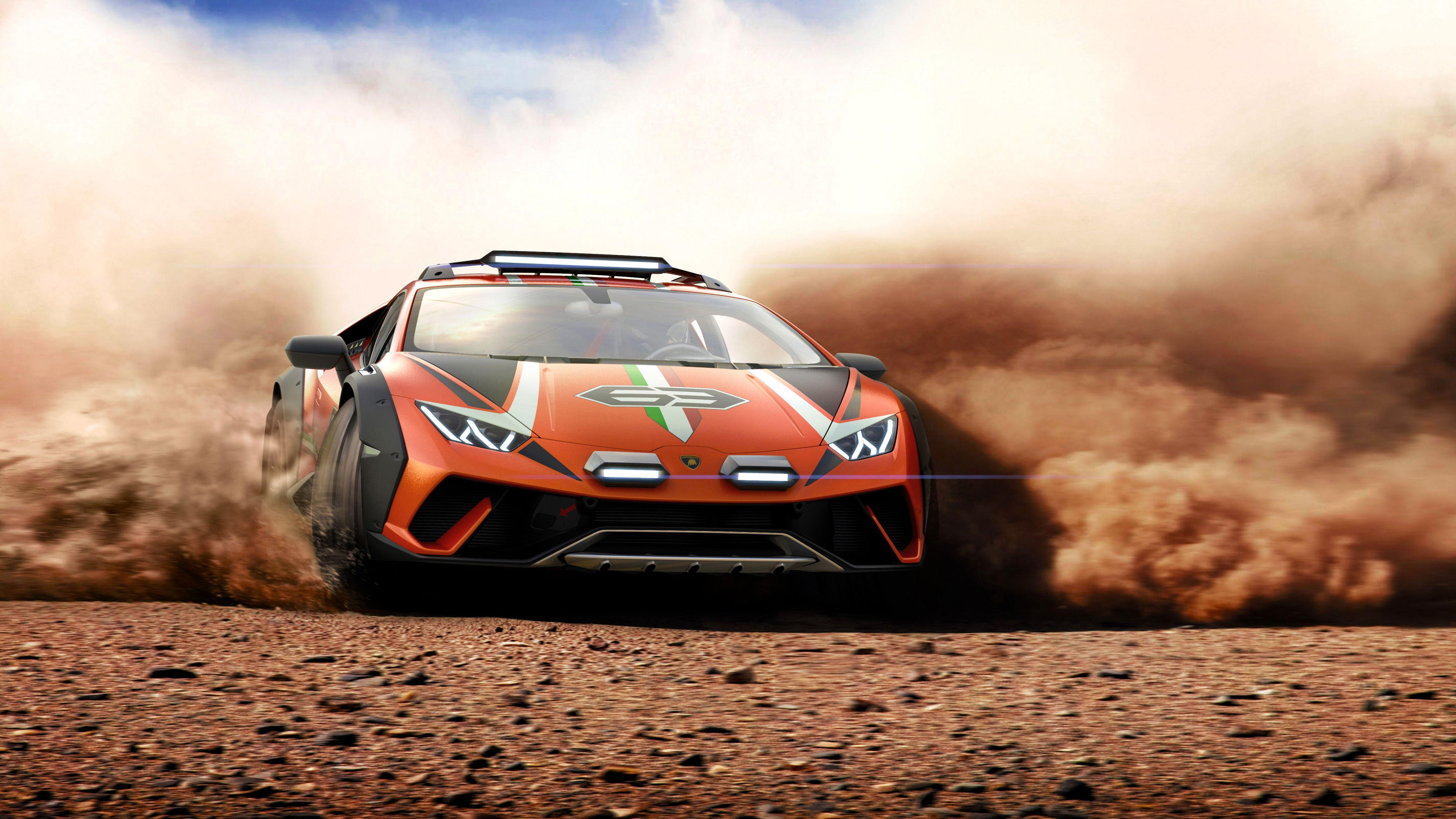 Lamborghini Huracán Sterrato \u2013 Crazy Off,Road Supercar Concept