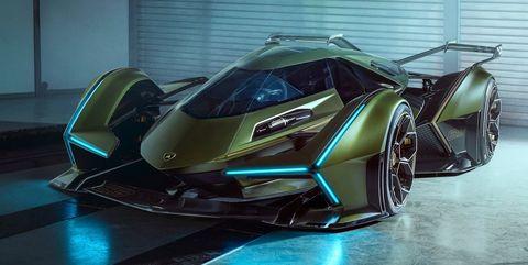 Lamborghini V12 Vision Concept Gran Turismo