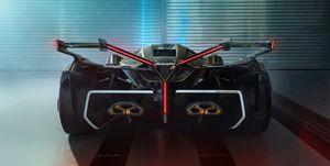 Lamborghini V12 Vision Concept Gran Turismo - trasera