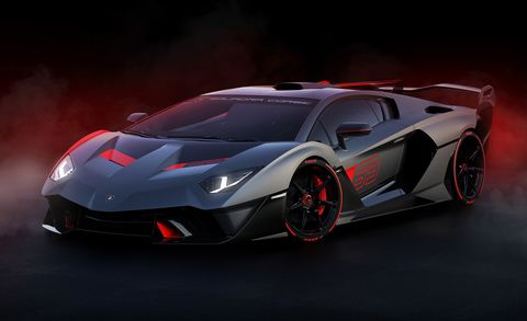 The Lamborghini Racing Team Created A One Off Roadgoing Track Car