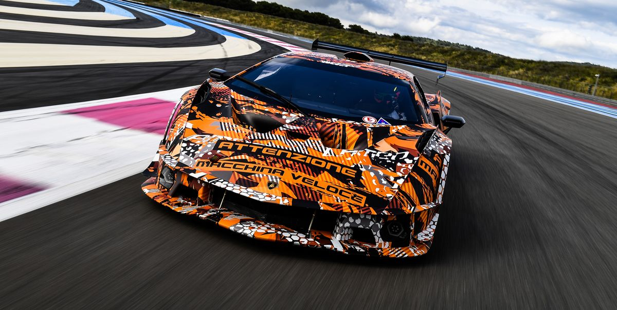 Coming This Summer, Lamborghini's Track-Only Hypercar, the SCV12