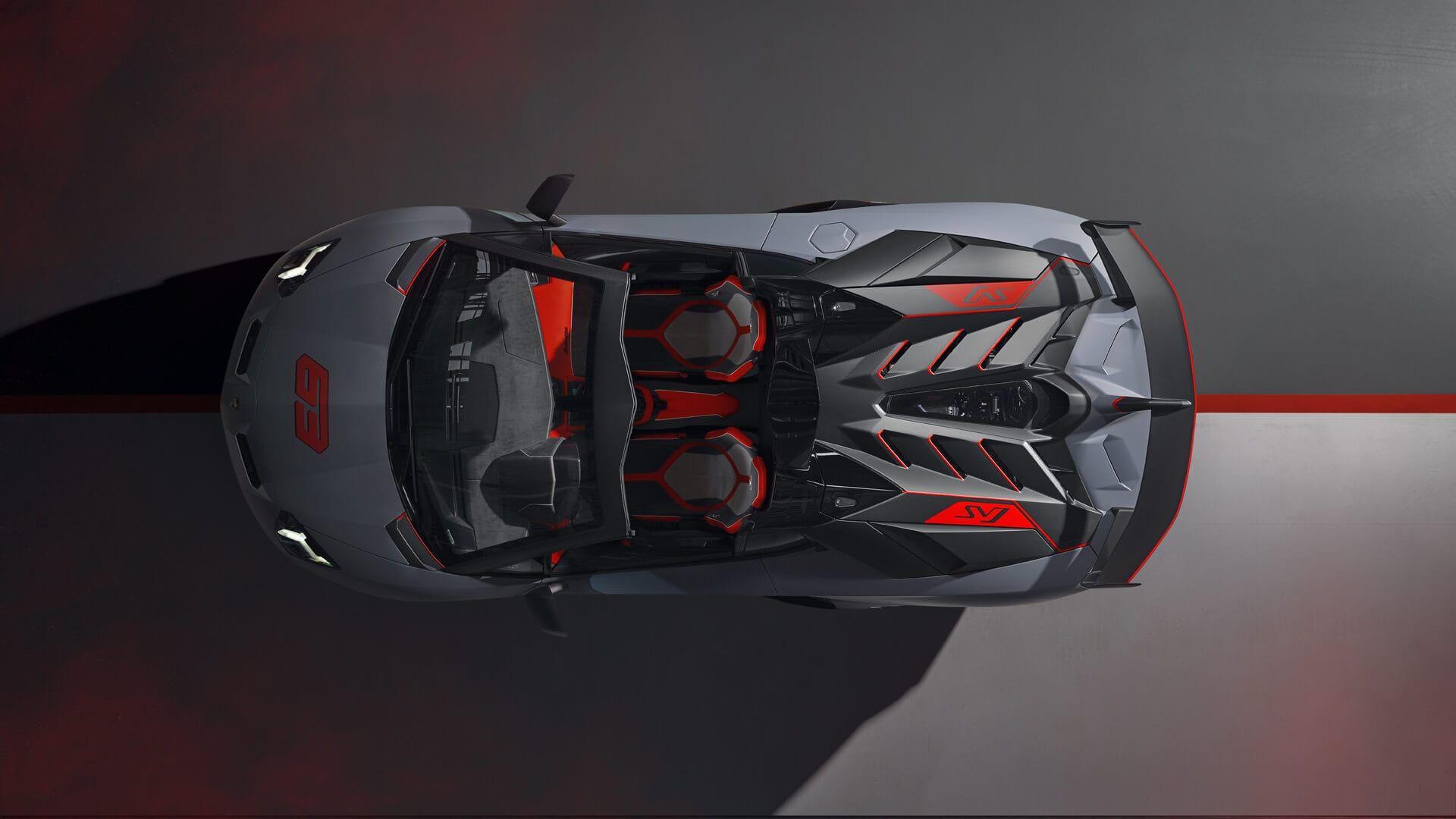 Lamborghini Aventador\u0027s Curtain Call Is the SVJ63 Roadster