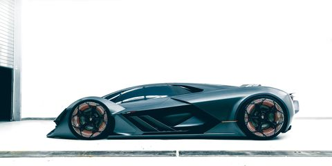 Lamborghini Is Apparently Planning A Hybrid V12 Glow In The Dark