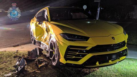 Un chico de 14 años estrella un Lamborghini Urus