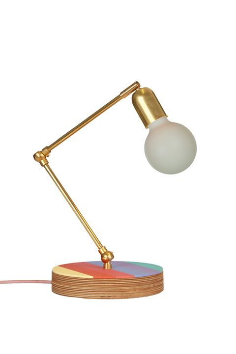 Olivia Rubin X Etsy Brass table lamp