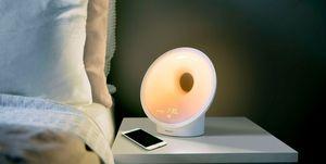 Lámpara simulador de amanecer amazon