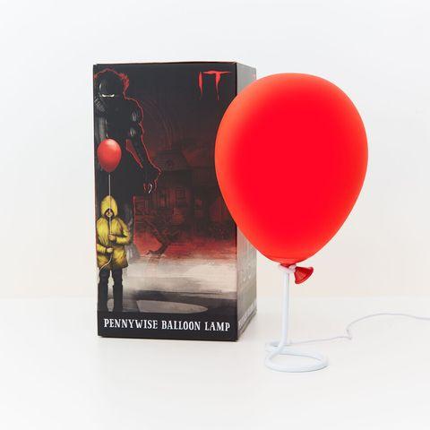 lámpara inspirada en pennywise de la película it