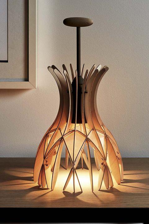 lámpara de mesa benedetta vintage de tagliabue inspirada en gaudí