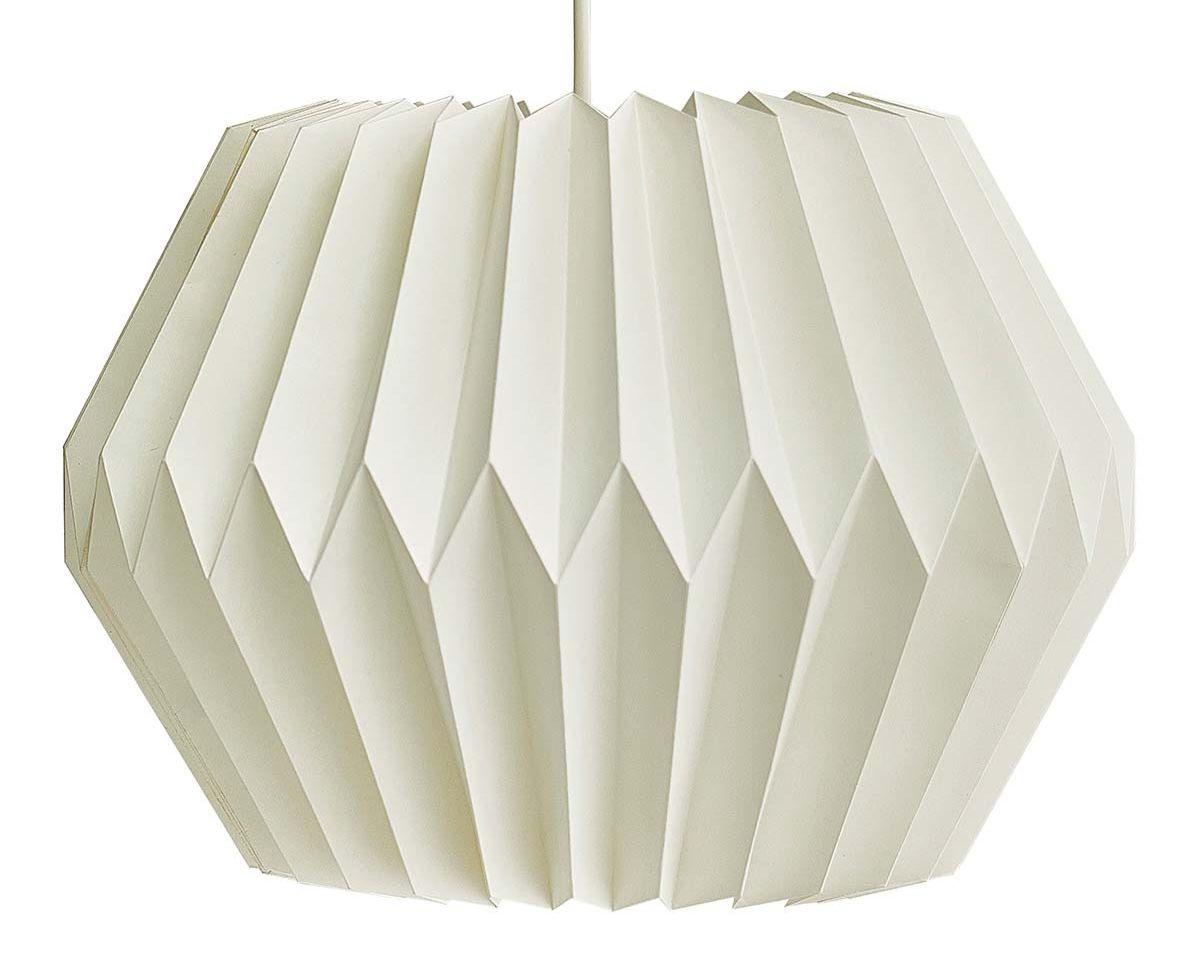 Lámpara de papel Origami