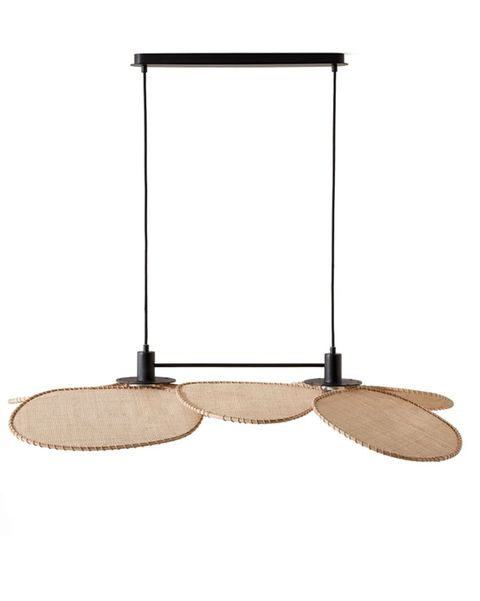 lámpara de techo alargada canopée diseño e gallina