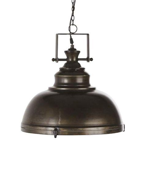 lámpara de techo de estilo industrial de metal envejecido