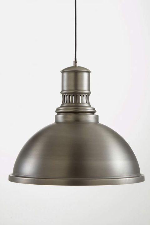 lámpara de techo de metal