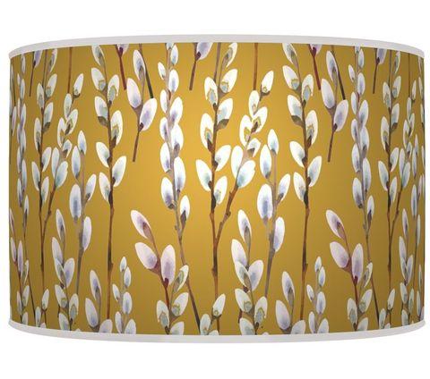 Lámpara de techo color mostaza