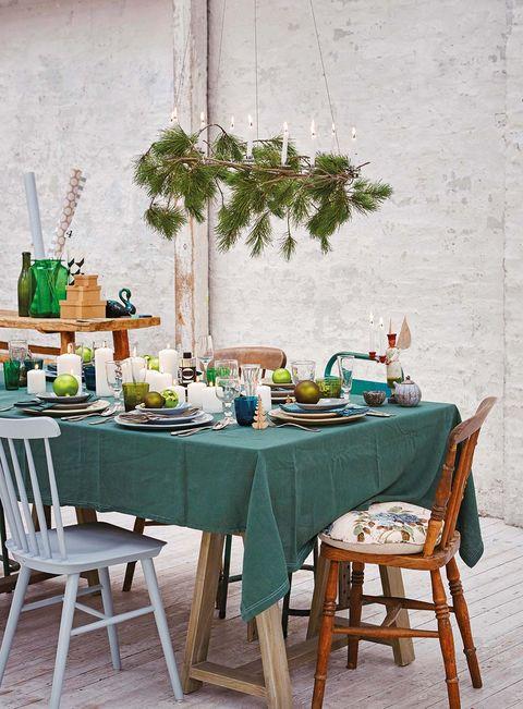 mesas navideñas