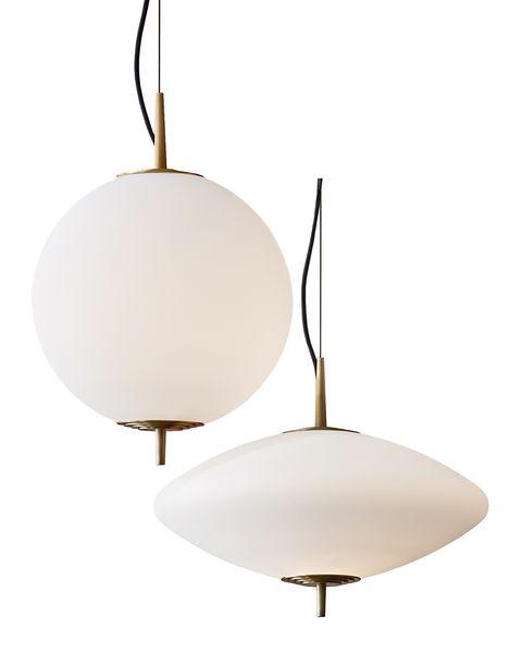lámparas de techo con pantalla de vidrio blanco